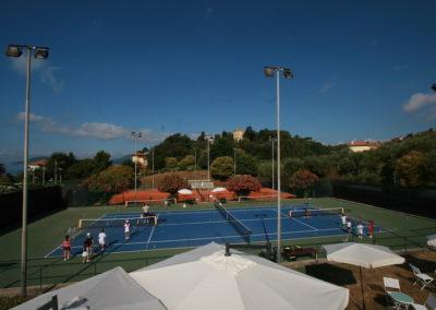 tennis lerici campi e mare